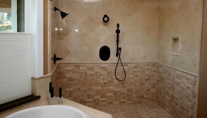 How Do I Remove U201cWhite Filmu201d From My Travertine Tile Floor Shower U2013 MB  Stone Care
