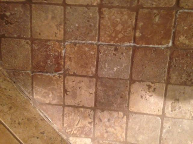 How Do I Remove Stubborn White Residue Off Travertine Shower Floor Tiles?  Nothing Works! U2013 MB Stone Care